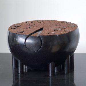 Kubach Kropp Säuleninsel 2012 Schwarzer schwedischer Granit