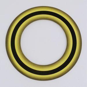 Lienhard von Monkiewitsch Licht-Rad 2016 Dispersion Pigment