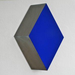 Wolfram Ullrich Cube 2005 Lack Acryl Stahl