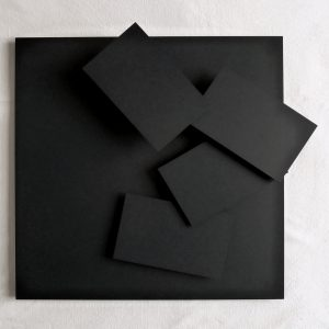 Vera Molnar 4 rectangles à la régle d´or 2004 Metall